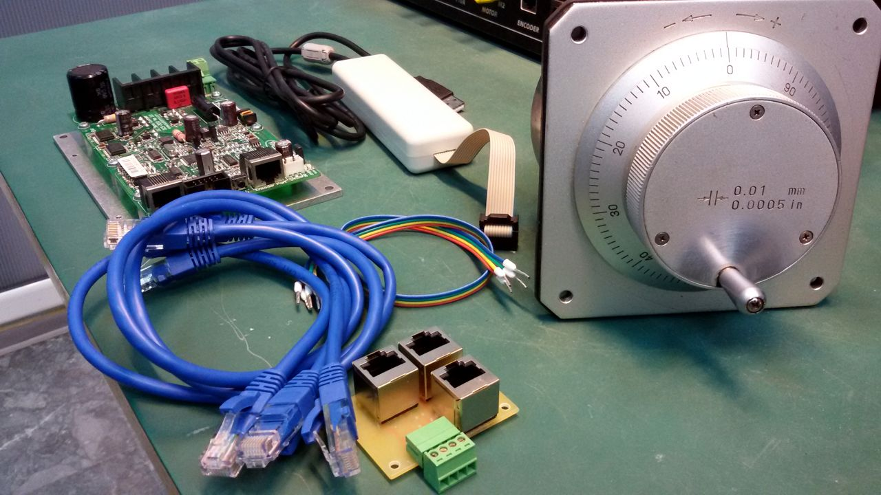 Manual Control Of Dc Servo Motor Using Mpg Encoder And Drive Schematic Click To Enlarge Image Mpg1